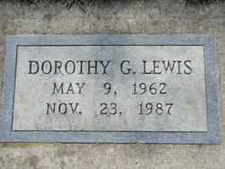 Dorothy G Lewis