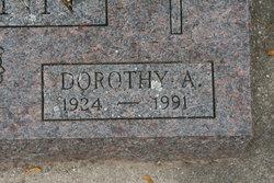 Dorothy A. <i>Schaafs</i> Billmann