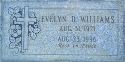 Evelyn D Williams