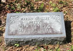 Marian Gousset Patty