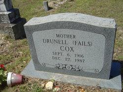 Drunell <i>Fails</i> Cox