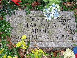 Clarence A Kernel Adams