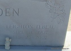 Leighton <i>Tebeau</i> Harden