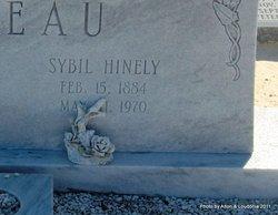 Sybil <i>Hinely</i> Tebeau