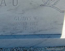 Gladys W. Tebeau