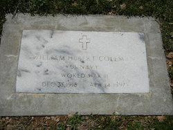 William Hubert Coleman