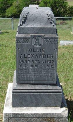 Ollie Alexander