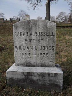 Sarah A. <i>Russell</i> Jones