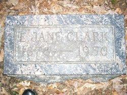 E Jane <i>Copas</i> Clark