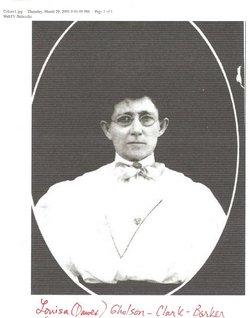 Celeste Louisa Louisa <i>Dawes</i> Barker