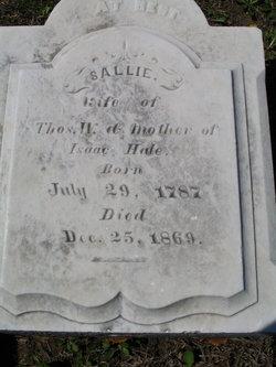 Sarah Sallie <i>Waldron</i> Hale