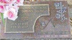 Barbara Lenore <i>Simons</i> Slone