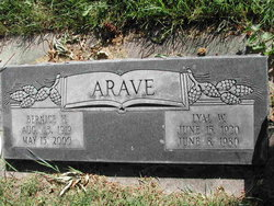 Bernice Helen <i>Oliver</i> Arave