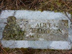 Alice L. <i>Jordan</i> Thompson