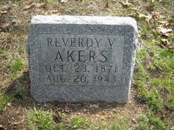 Reverdy V. Rev. Akers