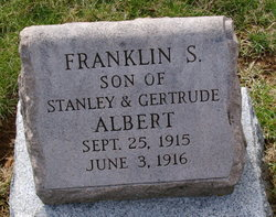 Franklin S Albert