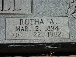 Rotha A. Bell
