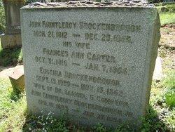 Col John Fauntleroy Brockenbrough, Sr