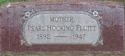 Lena Pearl <i>Hocking</i> Fluitt
