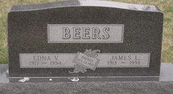 Edna V. <i>Lagemann</i> Beers