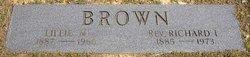 Rev Richard Leander Brown