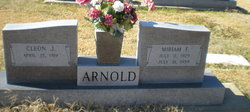 Miriam E. <i>Frierson</i> Arnold