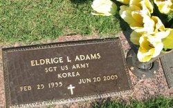 Sgt Eldrige L. Adams