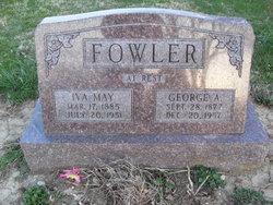 Iva May <i>Hobbs</i> Fowler
