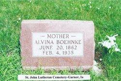 Albertina Alvina <i>Woiwood</i> Boehnke