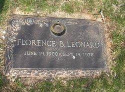 Florence <i>Black</i> Leonard