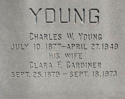 Clara Frances <i>Gardiner</i> Young