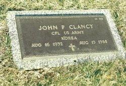 Corp John Patrick Jack Clancy