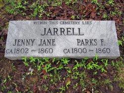 Jenny Jane <i>Robinson</i> Jarrell