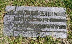 Marcu De Lafayette Baird