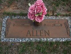 Wauneta Evelyn <i>Evans</i> Allen