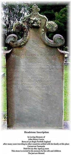 Capt John Henry Cowen