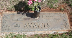 Willie D. Avants