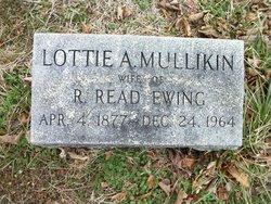 Lottie A. <i>Mullikin</i> Ewing