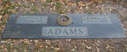 Bobbie W Adams