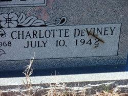 Charlotte <i>Deviney</i> Alley
