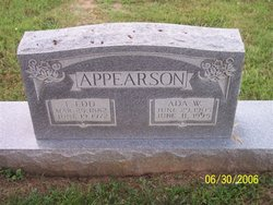 Ada <i>Weaver</i> Appearson