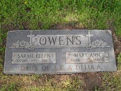 Mary Ann Owens