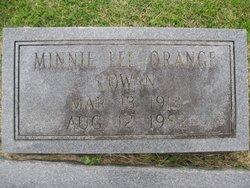 Minnie Lee <i>Orange</i> Cowan