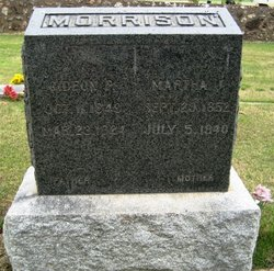 Martha Jane <i>Edgemon</i> Morrison