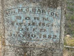 M. G. Barton