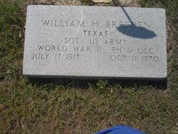 William H Breeden