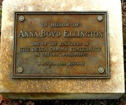 Anna Rebecca Annie <i>Boyd</i> Ellington