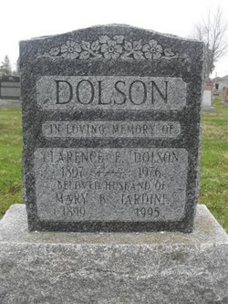 Clarence Edward Dolly Dolson