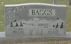 Altha R. <i>Walters</i> Baggs