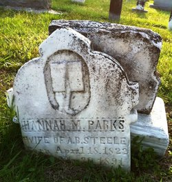 Hannah M <i>Parks</i> Black